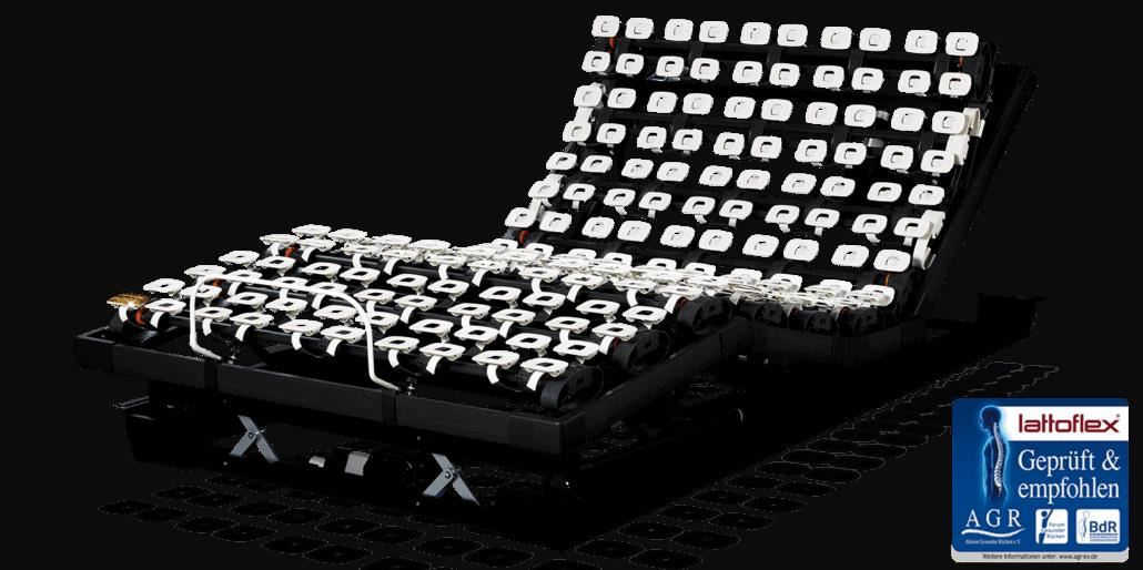 Motorrahmen elektrisch verstellbarer Lattenrost