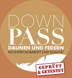 Daunenpass zertifiziert