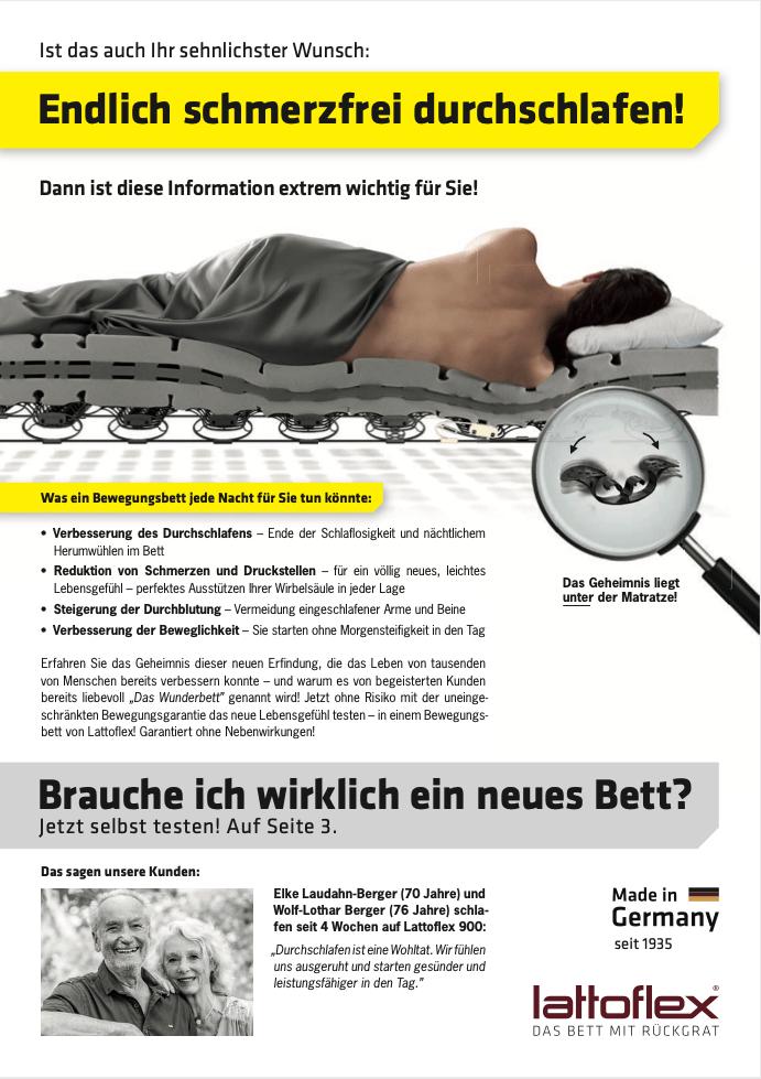 2020 Betten Rüger Altdorf Thevo Tiefschlafaktion